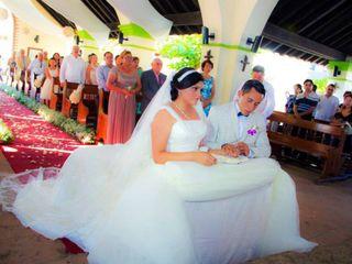 La boda de Georgina y Gabriel
