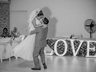 La boda de Luis y Karina