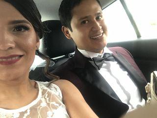 La boda de Perla y David