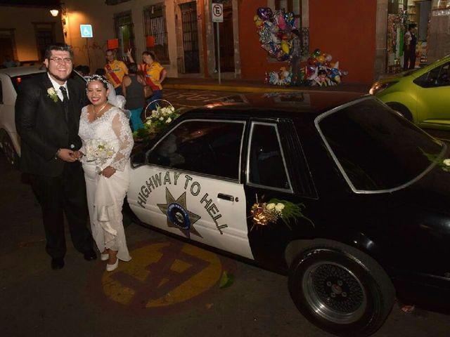 La boda de Fátima del Rosario y Víctor Hugo