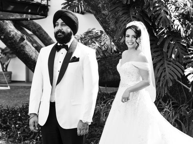 La boda de Raquel  y Bikramjit