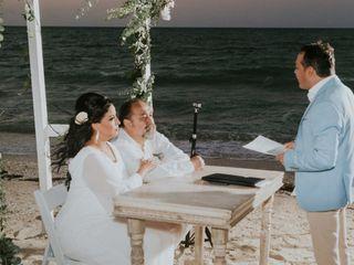 La boda de Amira y Jorge