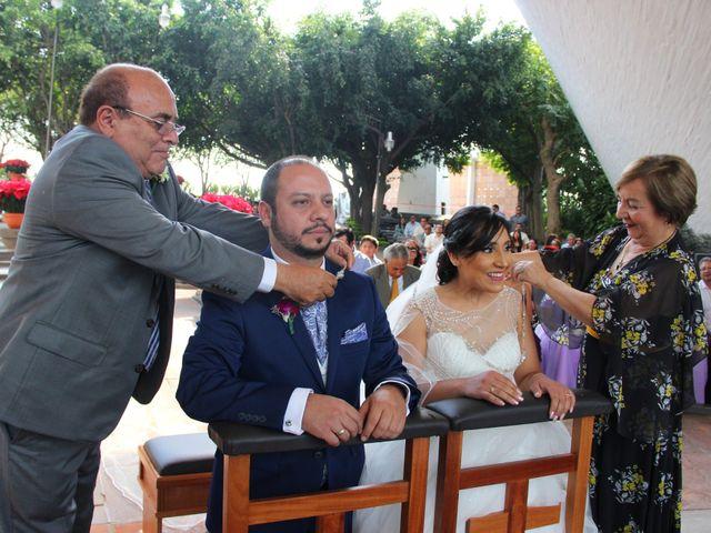 La boda de Álvaro y Grysel en Jiutepec, Morelos 10
