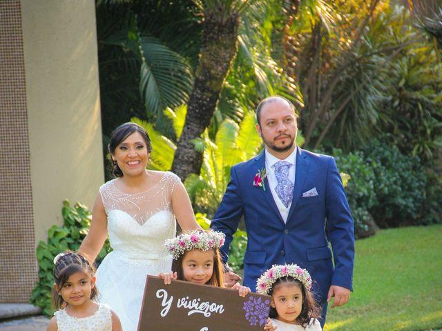 La boda de Álvaro y Grysel en Jiutepec, Morelos 16