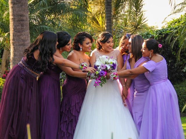 La boda de Álvaro y Grysel en Jiutepec, Morelos 18