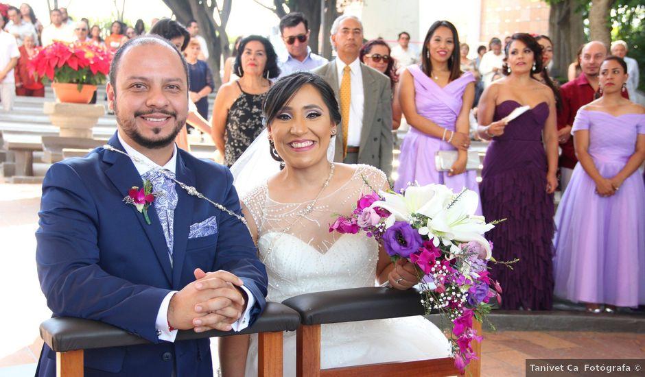 La boda de Álvaro y Grysel en Jiutepec, Morelos