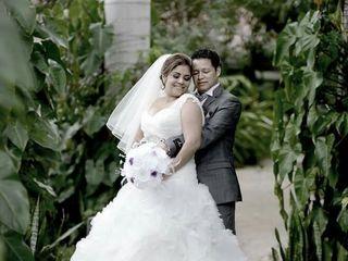 La boda de Elizabeth  y Victor  1