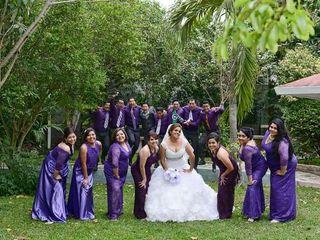 La boda de Elizabeth  y Victor  2