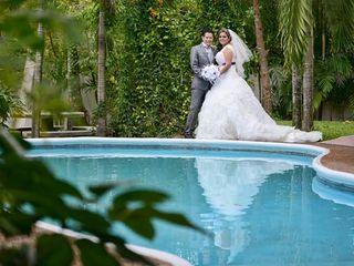 La boda de Elizabeth  y Victor  3