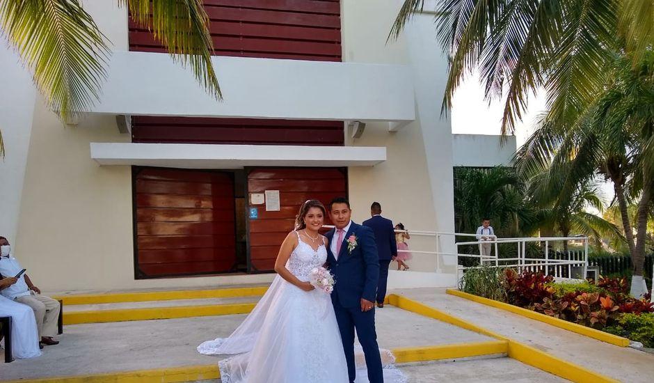 La boda de Francisco  y Joselín en Cancún, Quintana Roo