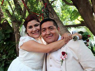 La boda de Alessia y Adrián