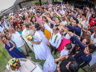 La boda de Lupita y Edgar