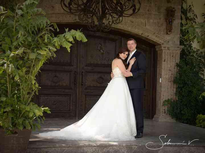 La boda de Daniela y Andree