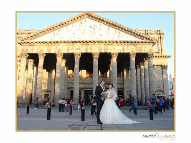 La boda de Andree y Daniela en Guadalajara, Jalisco 4