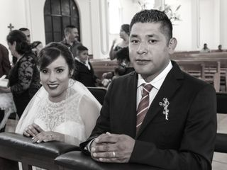 La boda de Elizabeth y Armando