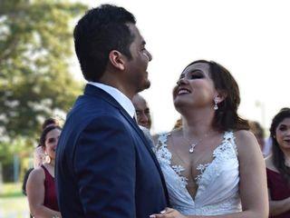 La boda de Erika  y Ossiel