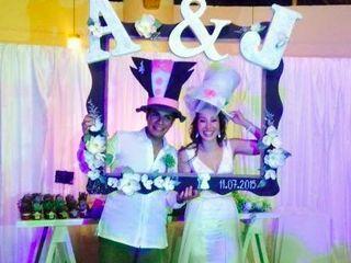 La boda de Alexa y Julio 2