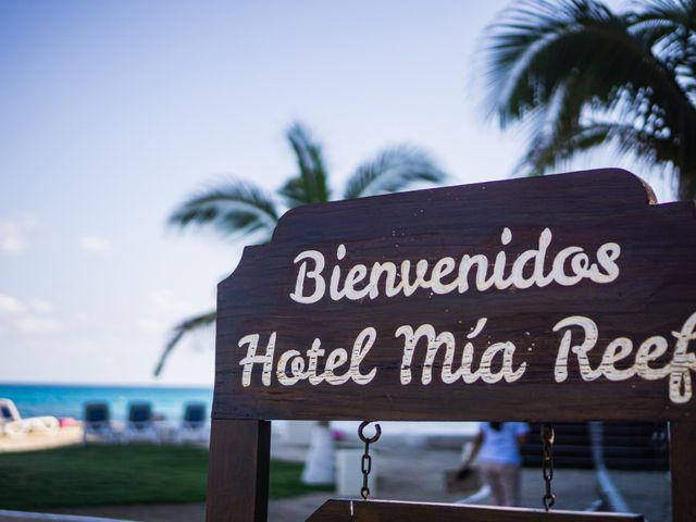 La boda de Alonso y Monique en Isla Mujeres, Quintana Roo 4