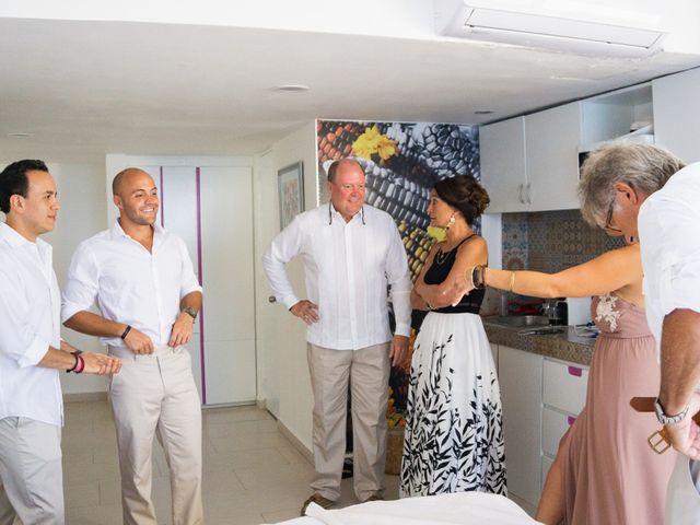 La boda de Alonso y Monique en Isla Mujeres, Quintana Roo 35