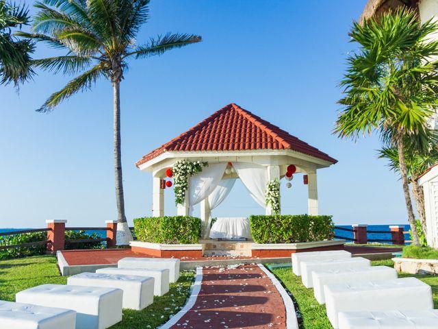 La boda de Alonso y Monique en Isla Mujeres, Quintana Roo 48