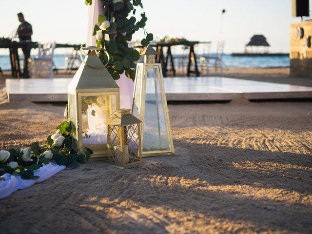 La boda de Alonso y Monique en Isla Mujeres, Quintana Roo 67