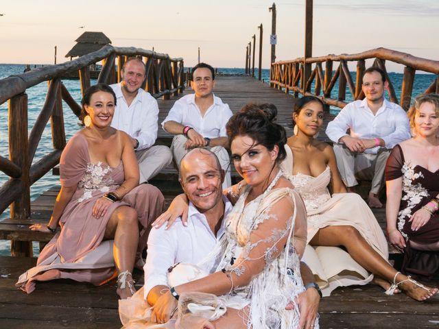 La boda de Alonso y Monique en Isla Mujeres, Quintana Roo 74