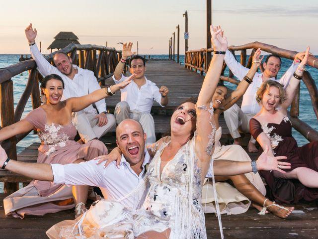 La boda de Alonso y Monique en Isla Mujeres, Quintana Roo 75