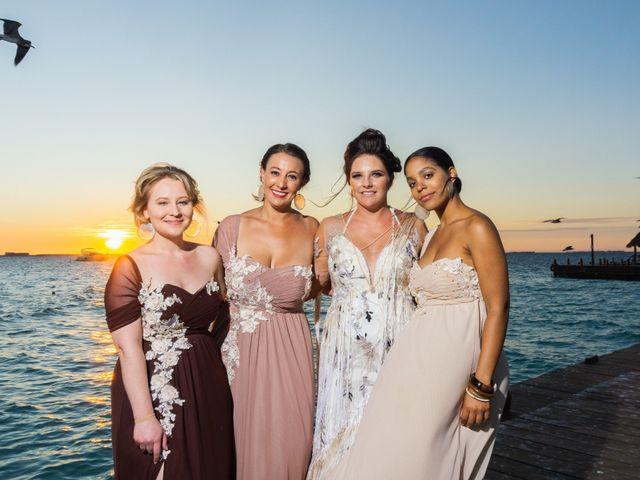 La boda de Alonso y Monique en Isla Mujeres, Quintana Roo 76