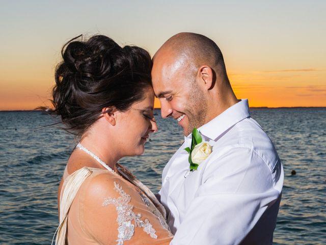 La boda de Monique y Alonso