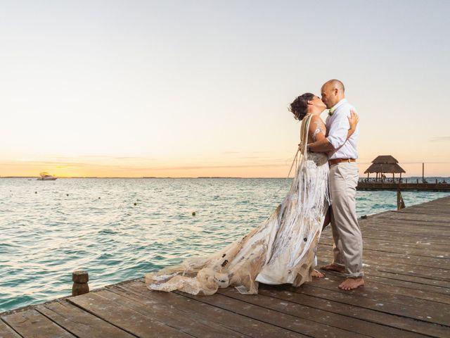 La boda de Alonso y Monique en Isla Mujeres, Quintana Roo 78
