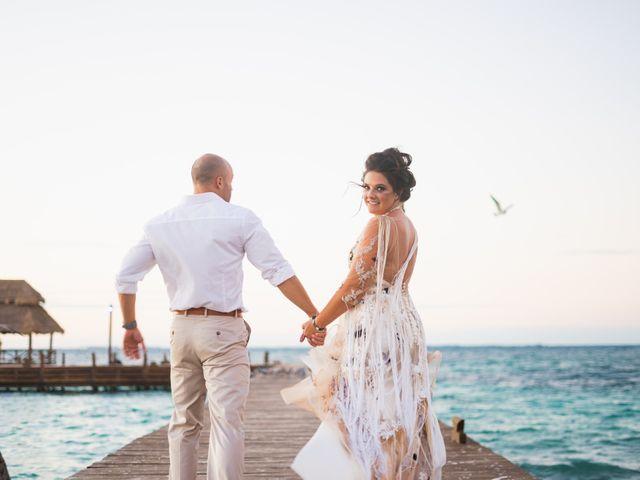 La boda de Alonso y Monique en Isla Mujeres, Quintana Roo 80