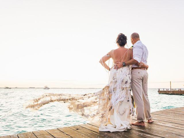 La boda de Alonso y Monique en Isla Mujeres, Quintana Roo 84