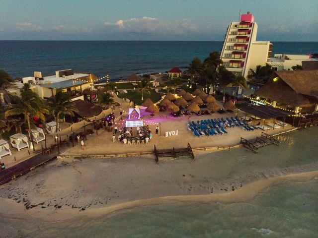 La boda de Alonso y Monique en Isla Mujeres, Quintana Roo 85