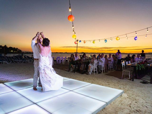 La boda de Alonso y Monique en Isla Mujeres, Quintana Roo 88
