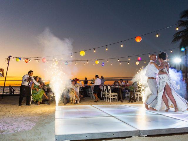 La boda de Alonso y Monique en Isla Mujeres, Quintana Roo 89