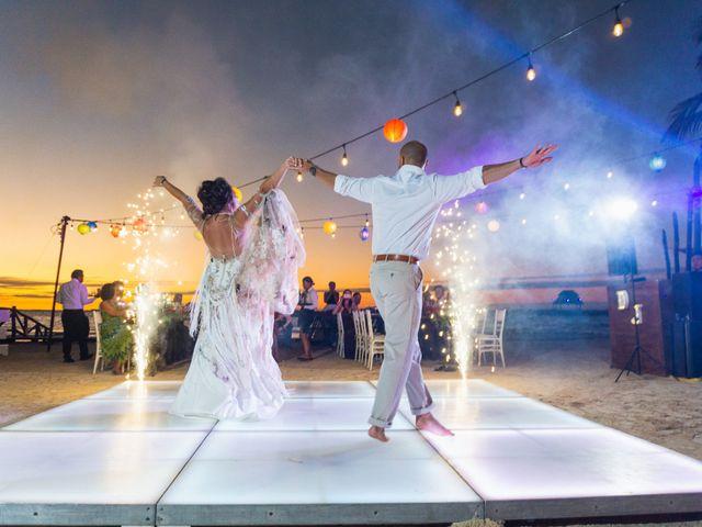 La boda de Alonso y Monique en Isla Mujeres, Quintana Roo 90