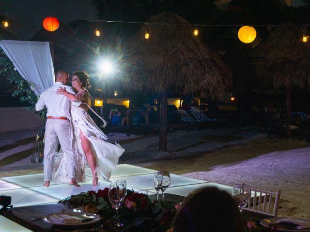 La boda de Alonso y Monique en Isla Mujeres, Quintana Roo 91