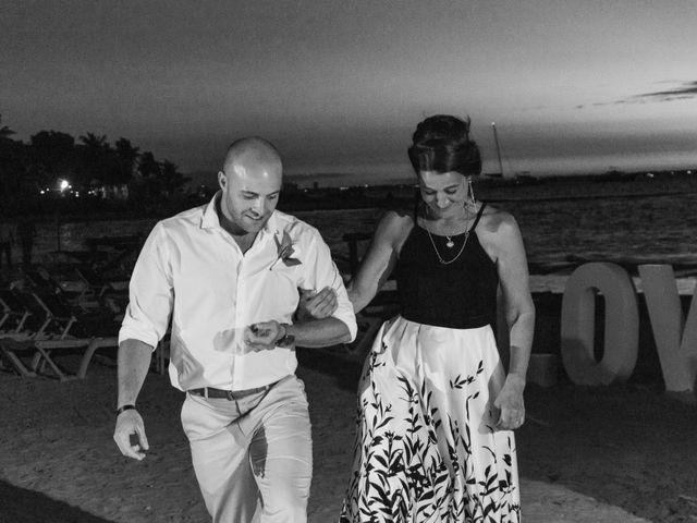 La boda de Alonso y Monique en Isla Mujeres, Quintana Roo 96