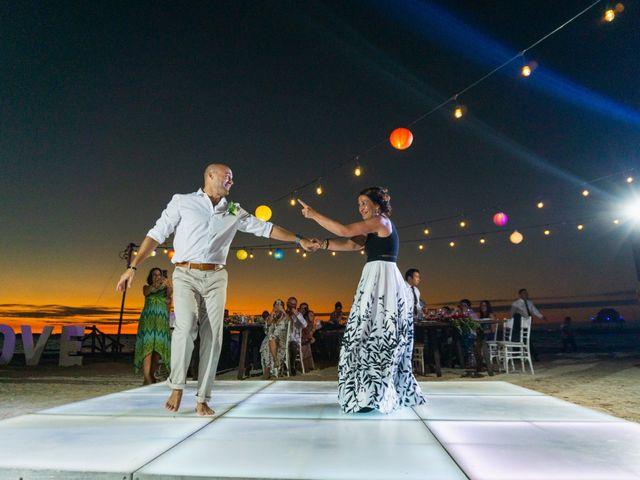 La boda de Alonso y Monique en Isla Mujeres, Quintana Roo 97