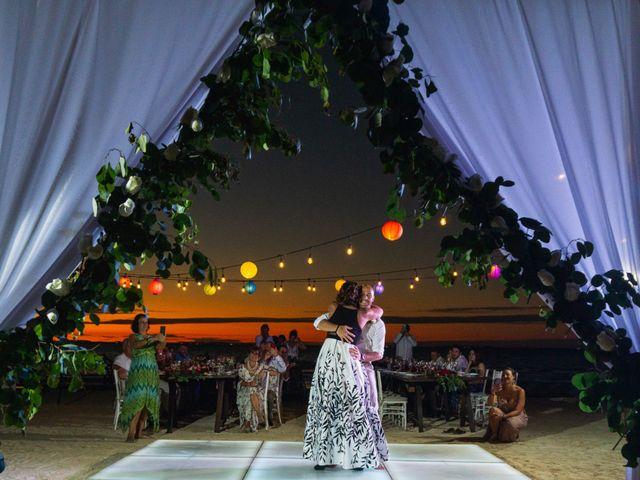 La boda de Alonso y Monique en Isla Mujeres, Quintana Roo 99
