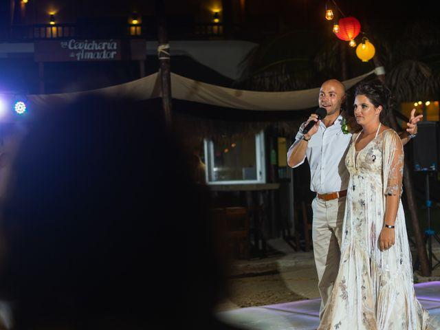 La boda de Alonso y Monique en Isla Mujeres, Quintana Roo 106