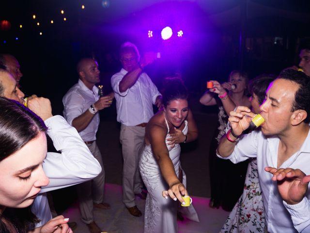 La boda de Alonso y Monique en Isla Mujeres, Quintana Roo 131