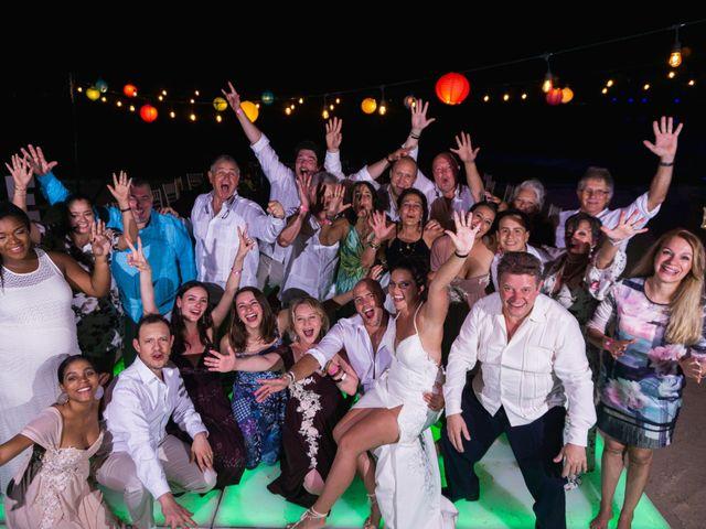 La boda de Alonso y Monique en Isla Mujeres, Quintana Roo 136