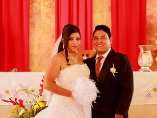La boda de Azuany y Martín
