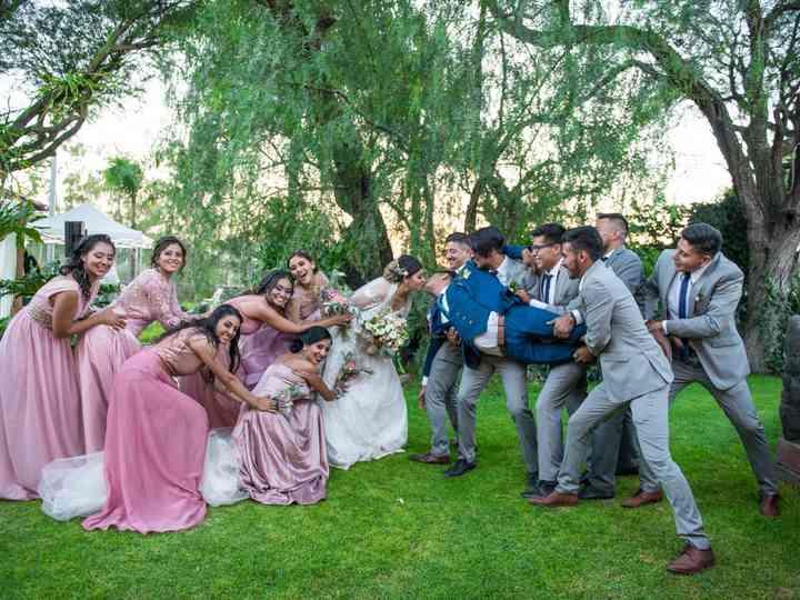 La boda de Andrea y Omar