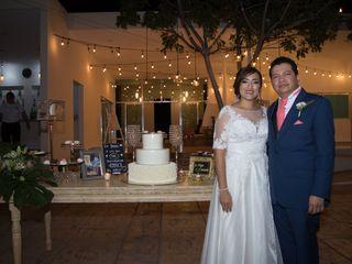 La boda de Candy y Víctor Hugo