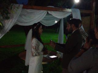 La boda de Ángeles  y Gabriel Edgardo