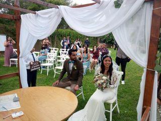 La boda de Ángeles  y Gabriel Edgardo 2