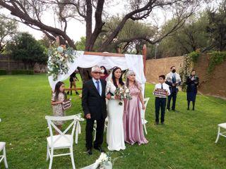 La boda de Ángeles  y Gabriel Edgardo 3