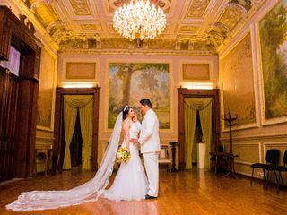 La boda de Elizabeth  y Oscar Renee